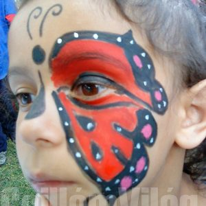 Pillangó-arcfestés