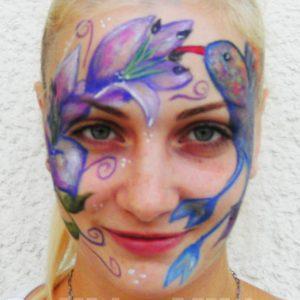 Kolibri-arcfestés
