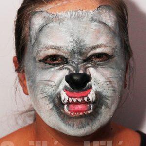 Farkas-arcfestés