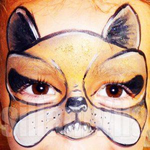 öleb-arcfestés