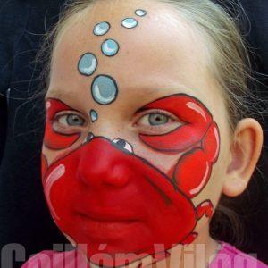 Rák-arcfestés