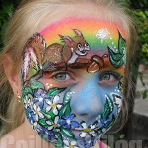 Mokus-arcfestés