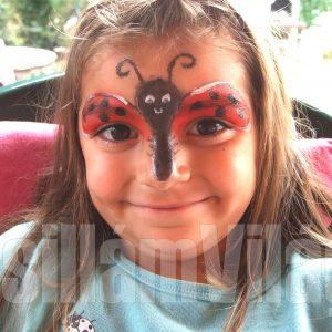 Katica-arcfestés